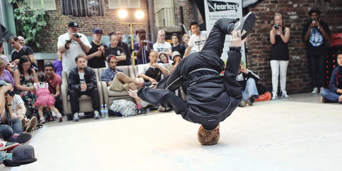 B-Boyinng Street Competition In Sydney