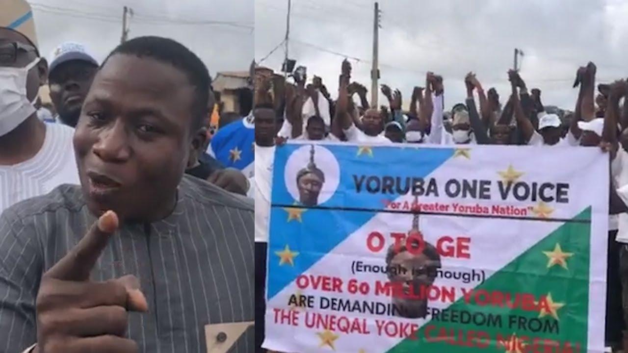 Unfreeze My Account Now Or Else . . . Sunday Igboho Dares FG